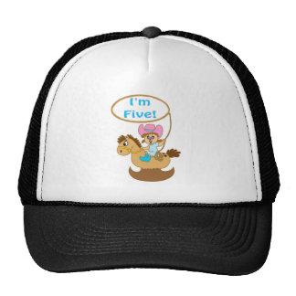 vaquera soy cinco gorras de camionero