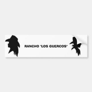 Vaquera, vaquero, RANCHO Pegatina Para Auto