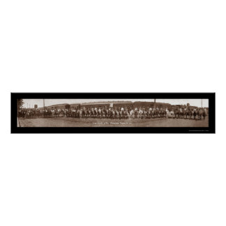 Vaqueras adentro O foto 1911 Póster
