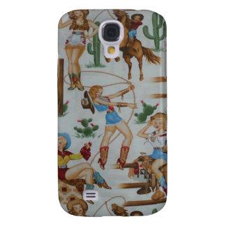 Vaqueras retras 3G/3GS del rodeo Samsung Galaxy S4 Cover