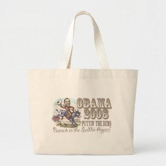 Vaquero 2008 de Obama Bolsa Tela Grande