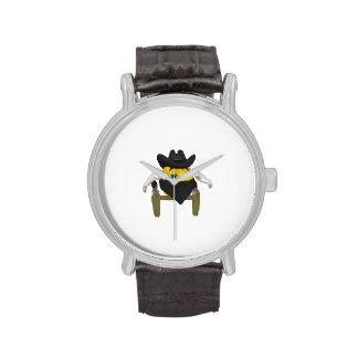 Vaquero 3 del chico malo relojes