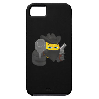 Vaquero 4 del chico malo iPhone 5 carcasas