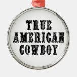 Vaquero americano verdadero ornatos