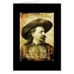 Vaquero bien nacido de Buffalo Bill Tarjeton