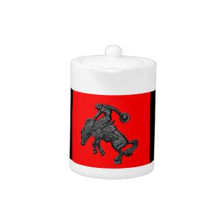 Vaquero Bucking .jpg del caballo de Tejas