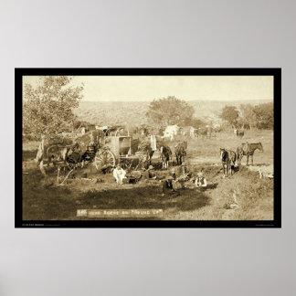 Vaquero Chuckwagon SD 1887 Impresiones
