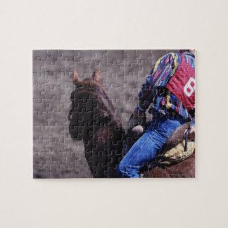 Vaquero con número de identificación puzzle con fotos
