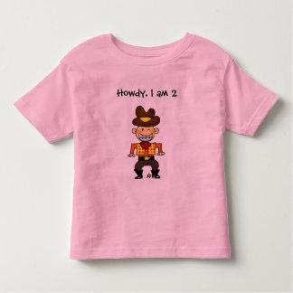 vaquero de 2 años camisas