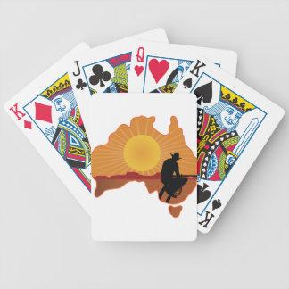 Vaquero de Australia Barajas De Cartas