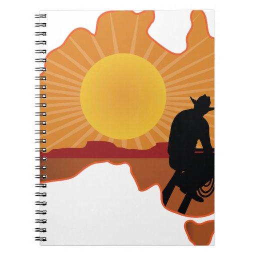 Vaquero de Australia Libreta Espiral