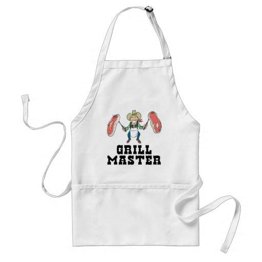 Vaquero de Grill Master Delantales