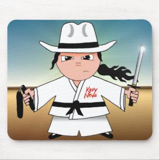 Vaquero de Kung Fu Tapete De Ratones