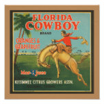 Vaquero de la Florida Impresiones