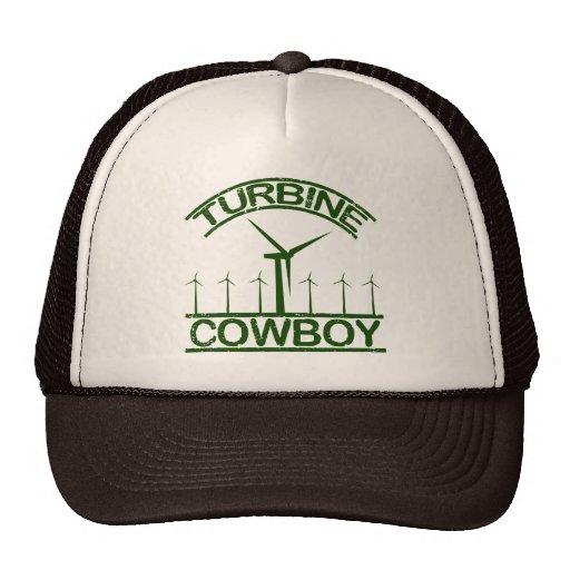Vaquero de la turbina gorra