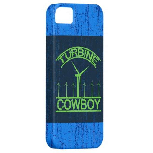Vaquero de la turbina iPhone 5 Case-Mate cárcasa
