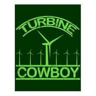 Vaquero de la turbina postal