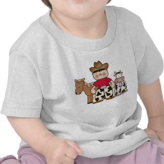 Vaquero de Lil Camisetas