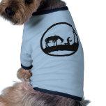 vaquero de rogación ropa para mascota