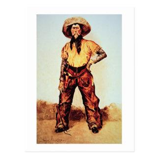 Vaquero de Tejas, c.1890 (aceite en lona) Tarjeta Postal