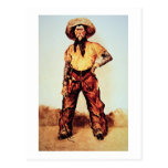 Vaquero de Tejas, c.1890 (aceite en lona) Tarjetas Postales