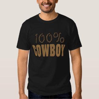 Vaquero del 100 por ciento playera
