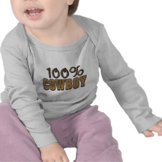 Vaquero del 100 por ciento camisetas