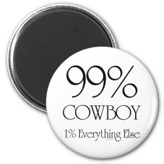 Vaquero del 99% imanes para frigoríficos