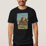 Vaquero del disparador de ROY ROGERS 1952 de la Playeras