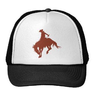 Vaquero del rodeo en tierra de Siena Gorra