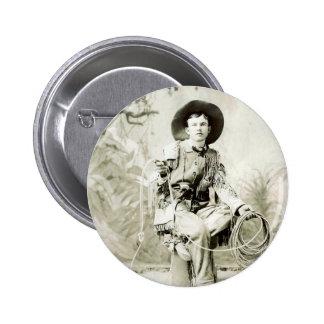 Vaquero del vintage circa 1900 pin