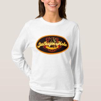 Vaquero del vintage de Jackson Hole Playera