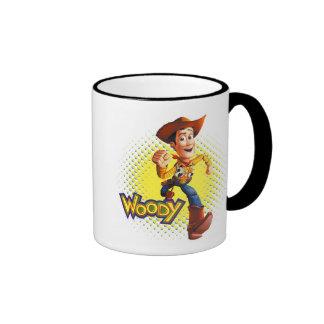 Vaquero Disney del sheriff de Woody Taza De Dos Colores