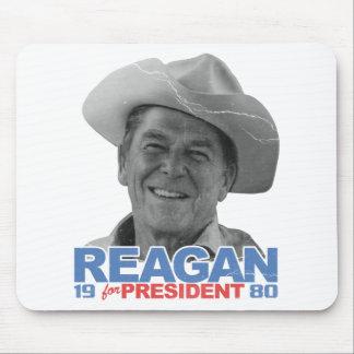 Vaquero el an o 80 de Reagan Alfombrillas De Ratones