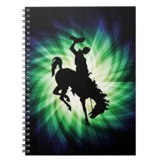 Vaquero en caballo salvaje/Bronc; Fresco Libro De Apuntes