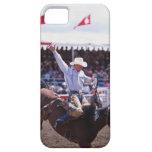 Vaquero en un rodeo funda para iPhone SE/5/5s