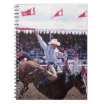 Vaquero en un rodeo spiral notebooks
