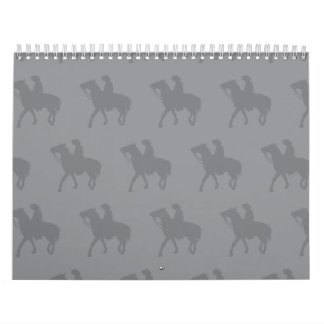 Vaquero Greys.ai Calendario De Pared