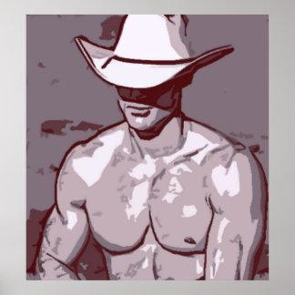Vaquero humilde póster