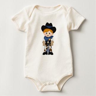Vaquero Mamelucos De Bebé