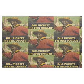 Vaquero negro de Bill Pickett la tela de Telas
