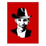 Vaquero Obama Postal