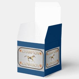 Vaquero occidental del campeón del favor de fiesta paquetes de regalo para bodas