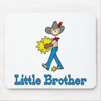Vaquero pequeño Brother del palillo Tapete De Raton
