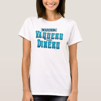 Vaquero With Dinero Ladies Baby Doll (Fitted) T-Shirt