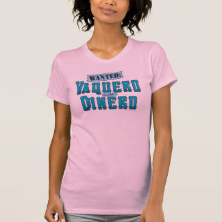 Vaquero with Dinero Ladies Tank Top (Fitted)
