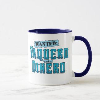 Vaquero With Dinero Ringer Mug