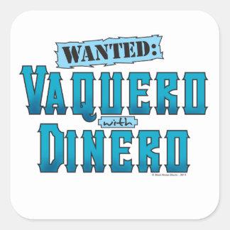 Vaquero With Dinero Sticker