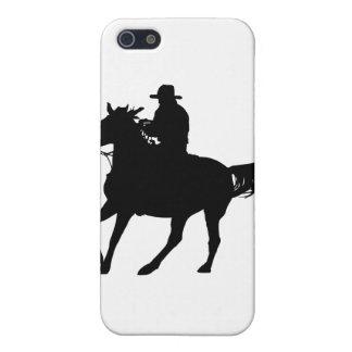 Vaquero y su caballo iPhone 5 fundas