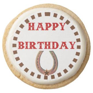 Vaquero y vaquera del feliz cumpleaños